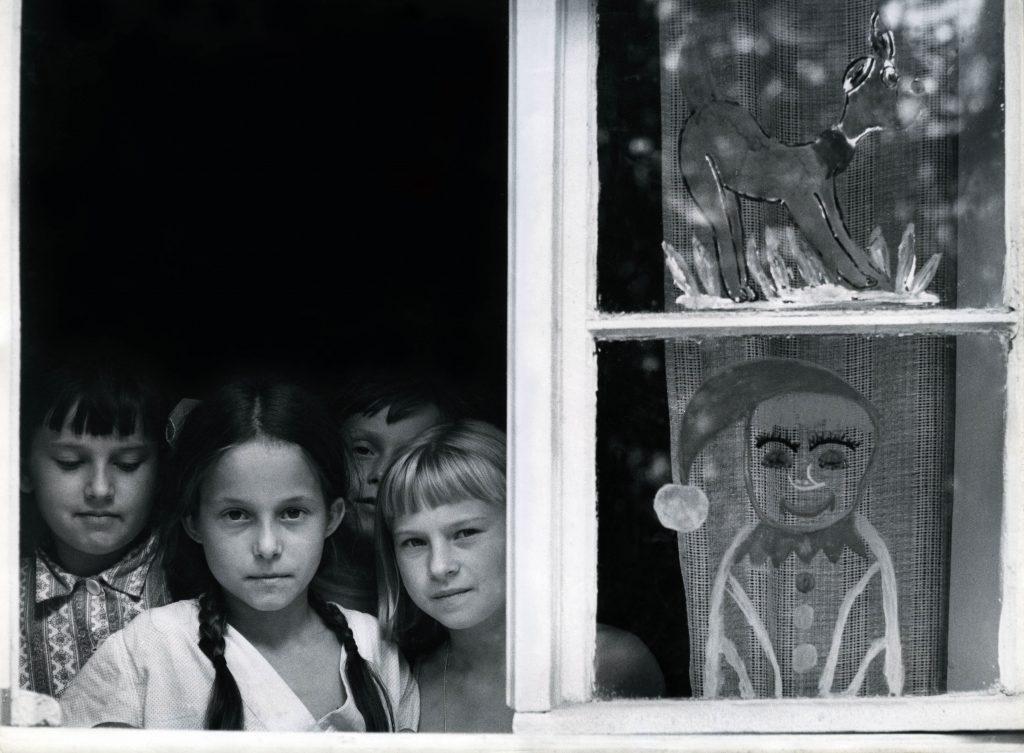 Gyermekotthon ablaka (Szczecin, Lengyelország, 1969 )
