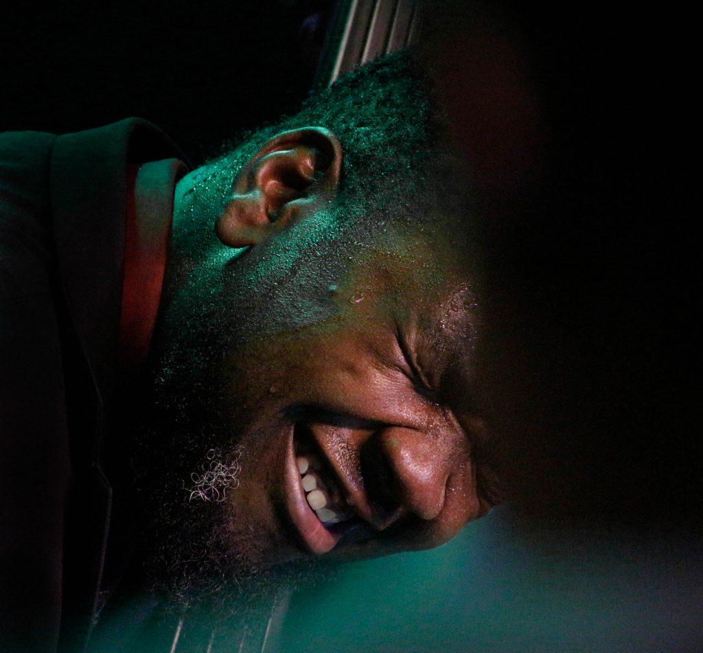Dezron Douglas jazz-bőgős / Dezron Douglas jazz bassist (Bánk, 2016)