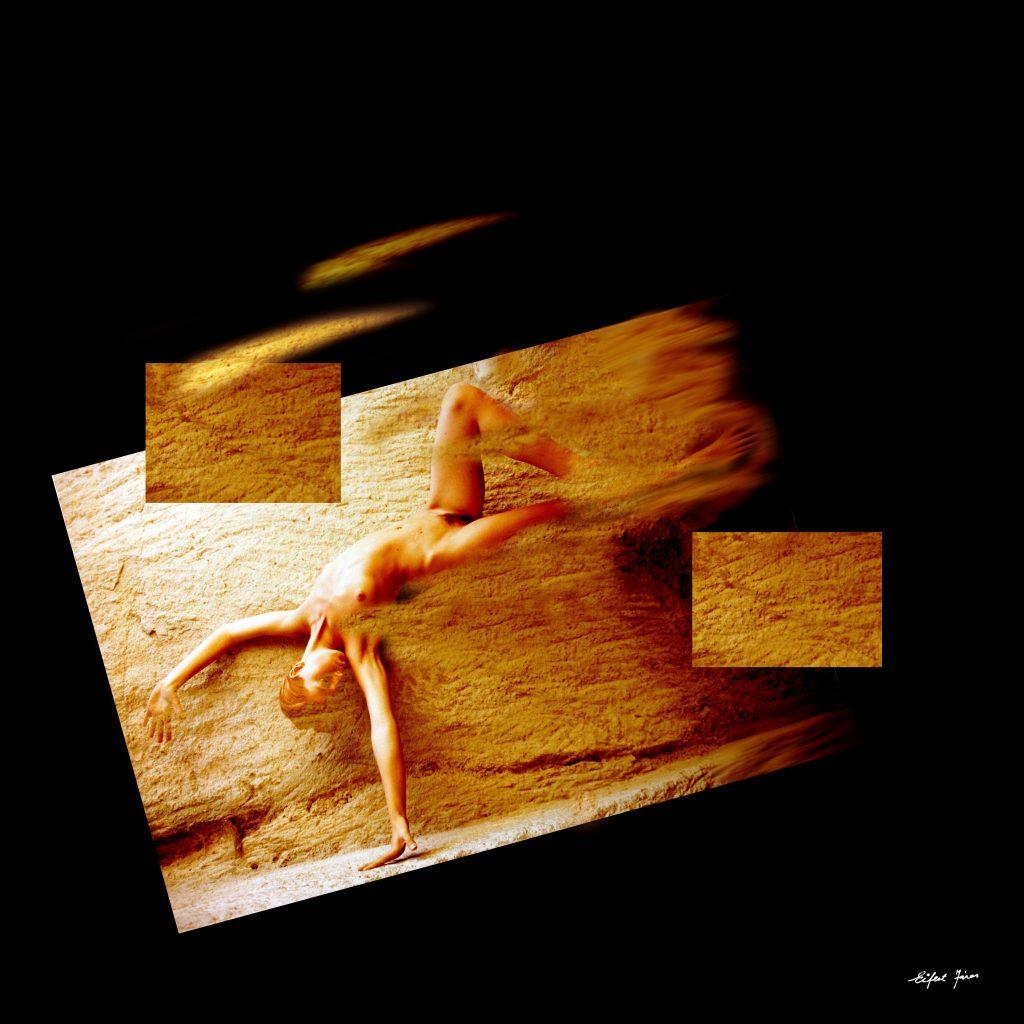Eifert János: Akt lehetetlen helyzetben (Sirok, 1995/2002)